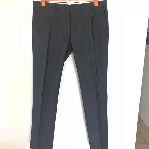 be7556e5 Zara Men Cotton/Mohair Dress Trousers. M_5bb7d00c1b3294183371551e